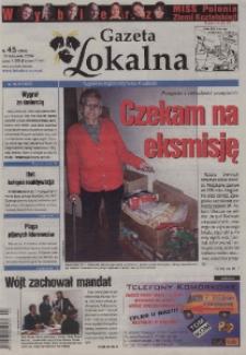 Gazeta Lokalna : tygodnik Kędzierzyńsko-Kozielski 2004, nr 45 (280).