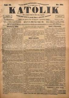 Katolik, 1909, R. 42, nr 100