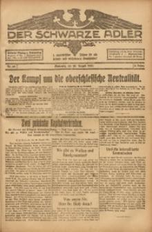 Der Schwarze Adler, 1920, Jg. 2, Nr. 49