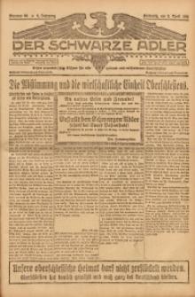 Der Schwarze Adler, 1921, Jg. 3, Nr. 35