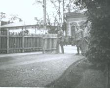 Brzeżany. Generał i żołnierze austiaccy z 1916 r.