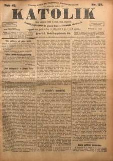 Katolik, 1909, R. 42, nr 127