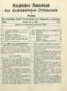 Kirchliches Amtsblatt des Erzbischöflichen Ordinariats in Breslau, 1935, Stück 5