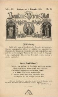 Schlesisches Bonifatius-Vereins-Blatt, 1918, Jg. 59, No. 11