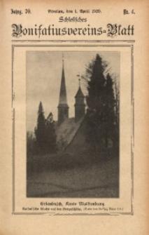 Schlesisches Bonifatiusvereins-Blatt, 1929, Jg. 70, Nr. 4