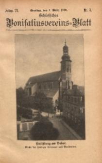 Schlesisches Bonifatiusvereins-Blatt, 1930, Jg. 71, Nr. 3