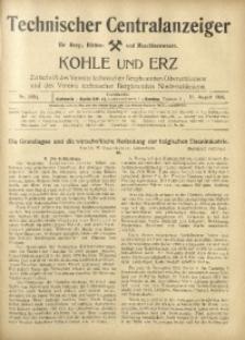 Kohle und Erz, 1916, Nr. 33/34