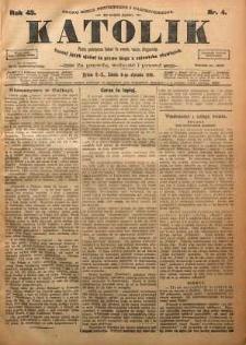 Katolik, 1910, R. 43, nr 4