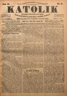 Katolik, 1910, R. 43, nr 11