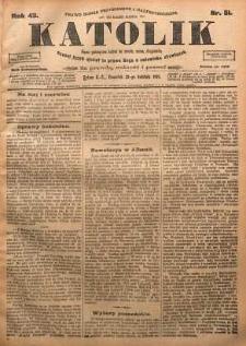 Katolik, 1910, R. 43, nr 51