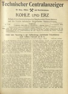 Kohle und Erz, 1918, Nr. 35/36