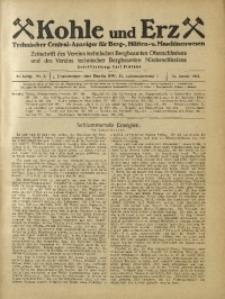 Kohle und Erz, 1925, Jg. 22, Nr. 5
