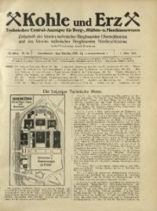 Kohle und Erz, 1925, Jg. 22, Nr. 10