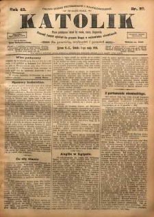 Katolik, 1910, R. 43, nr 55