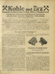 Kohle und Erz, 1925, Jg. 22, Nr. 25