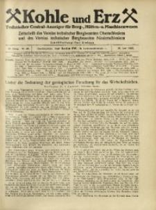 Kohle und Erz, 1925, Jg. 22, Nr. 26