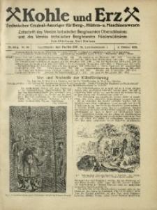Kohle und Erz, 1925, Jg. 22, Nr. 40