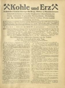 Kohle und Erz, 1925, Jg. 22, Nr. 48