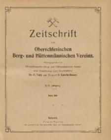 Zeitschrift des Oberschlesischen Berg- und Hüttenmännischen Vereins, 1910, Jg. 49, März