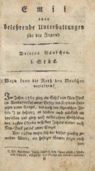 Emil oder belehrende Unterhaltungen für die Jugend, 1802, Jg. 2, Bd. 3, St. 1