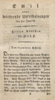 Emil oder belehrende Unterhaltungen für die Jugend, 1802, Jg. 2, Bd. 3, St. 6