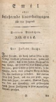 Emil oder belehrende Unterhaltungen für die Jugend, 1802, Jg. 2, Bd. 3, St. 13