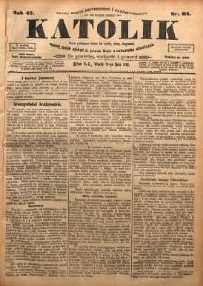 Katolik, 1910, R. 43, nr 86