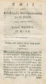 Emil oder belehrende Unterhaltungen für die Jugend, 1806, Jg. 6, Bd. 1, St. 4