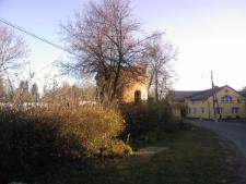 Pomorzowice. Baszta obronna.