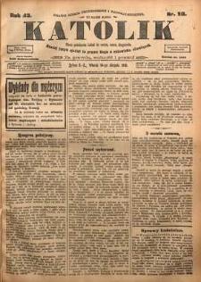 Katolik, 1910, R. 43, nr 98