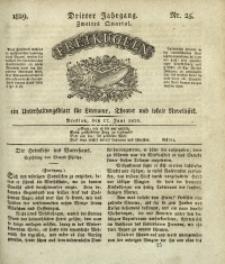 Freikugeln, 1829, Jg. 3, Nr. 25