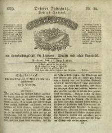 Freikugeln, 1829, Jg. 3, Nr. 35