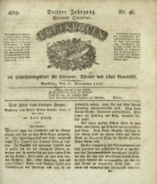 Freikugeln, 1829, Jg. 3, Nr. 46