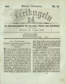 Freikugeln, 1830, Jg. 4, Nr. 24
