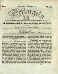 Freikugeln, 1831, Jg. 5, Nr. 18