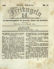 Freikugeln, 1831, Jg. 5, Nr. 33