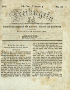Freikugeln, 1831, Jg. 5, Nr. 48