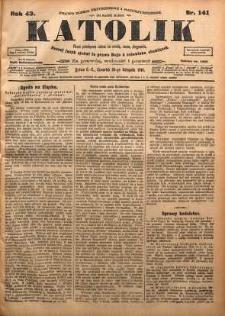 Katolik, 1910, R. 43, nr 141