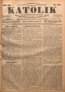 Katolik, 1910, R. 43, nr 149