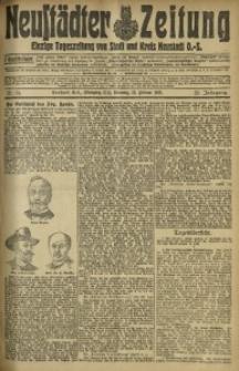 Neustädter Zeitung, 1912, Jg. 23, Nr. 34