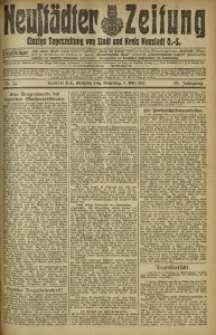 Neustädter Zeitung, 1912, Jg. 23, Nr. 54