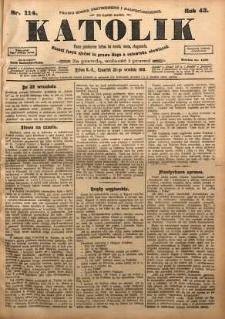Katolik, 1910, R. 43, nr 114