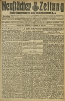 Neustädter Zeitung, 1912, Jg. 23, Nr. 128
