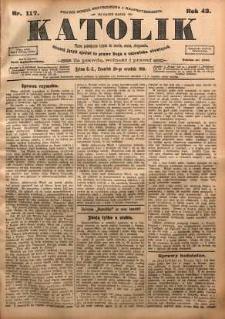 Katolik, 1910, R. 43, nr 117