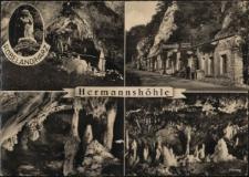 Jaskinia Hermanna wraz z Jaskinią Baumanna, jest jedną z dwóch jaskiń pokazowych w miejscowości Rübeland.