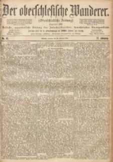 Der Oberschlesische Wanderer, 1900, Jg. 72, Nr. 45