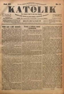 Katolik, 1919, R. 52, nr 5