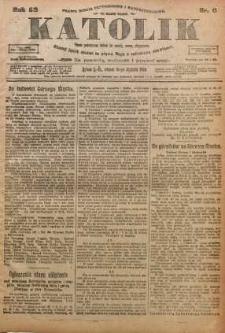 Katolik, 1919, R. 52, nr 6