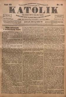 Katolik, 1919, R. 52, nr 41