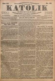 Katolik, 1919, R. 52, nr 42